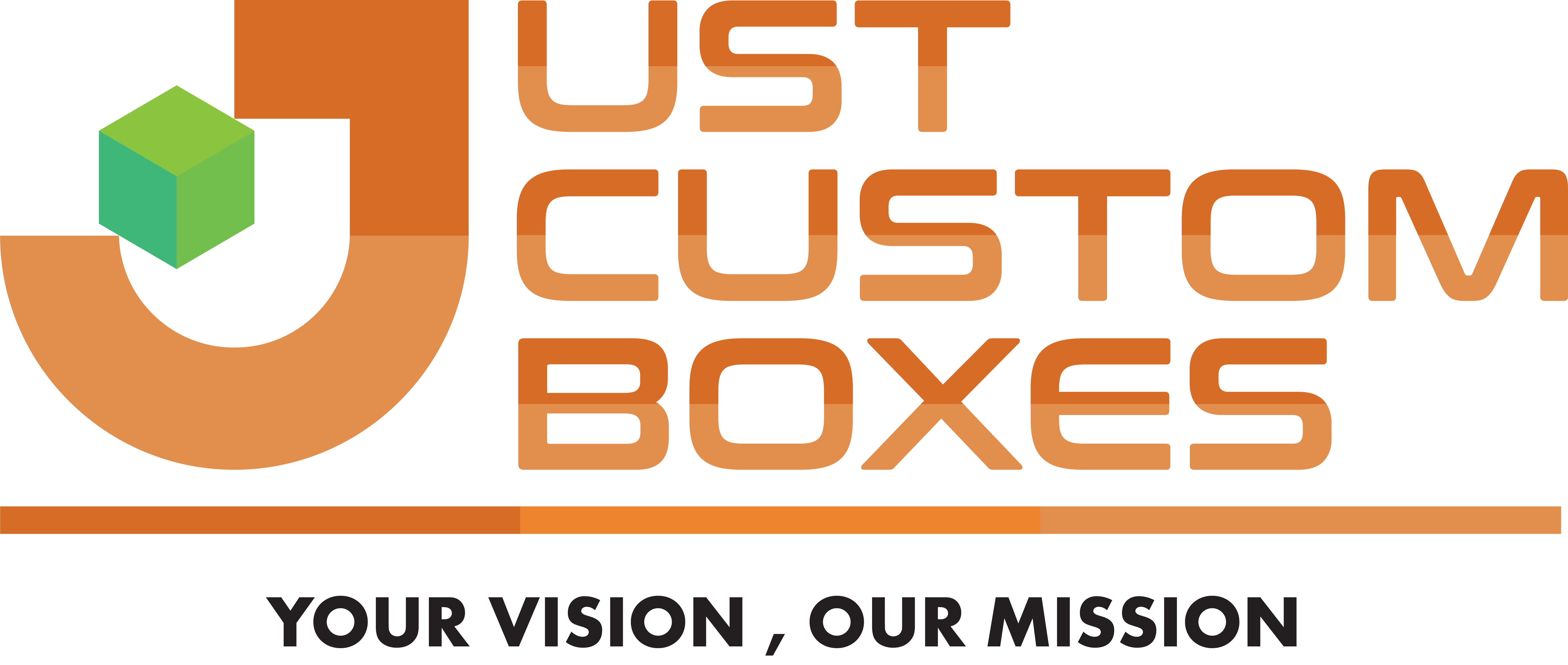 just custom boxes logo