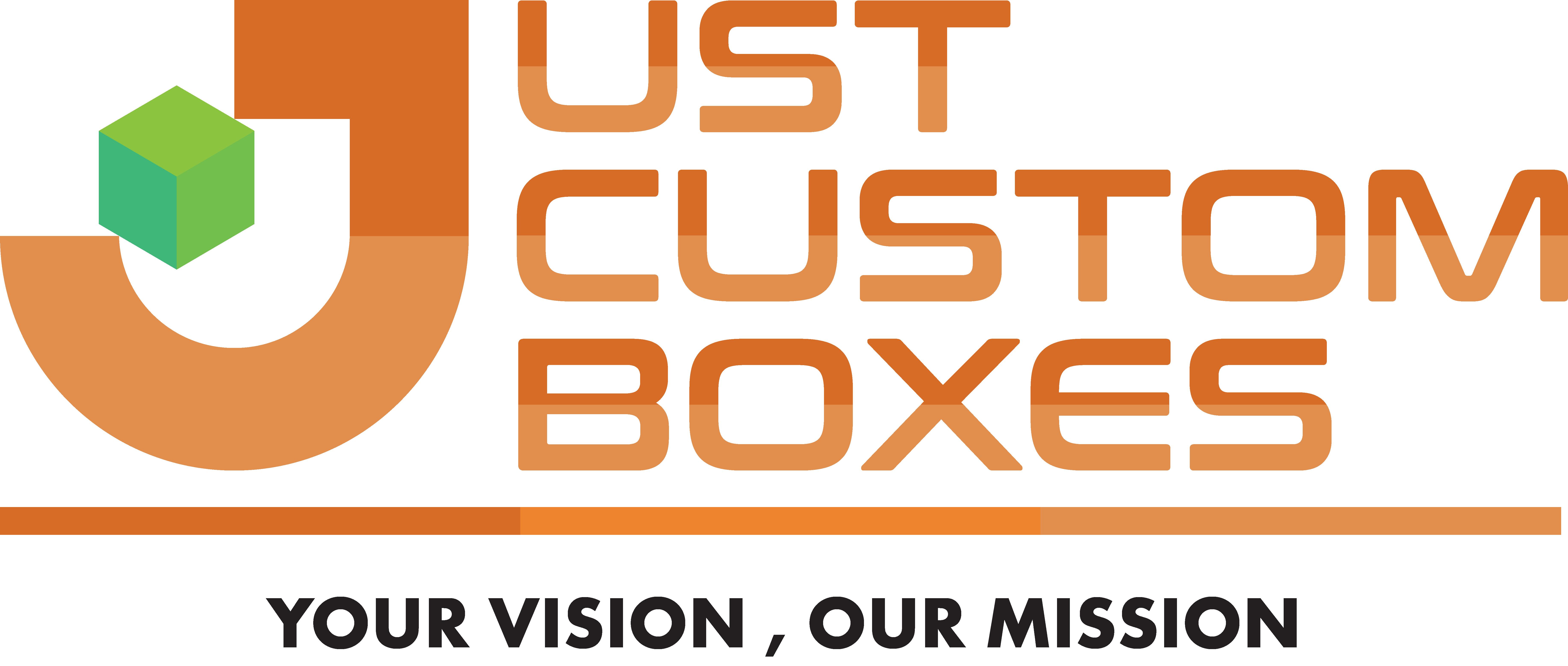 just custom boxes logo